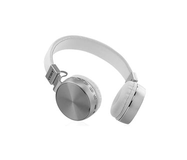 AUDIFONO CON MICROFONO COBY, BLUETOOTH, SOUND STEREO, FM RADIO, AUX 3.5MM, TF, METAL CAP