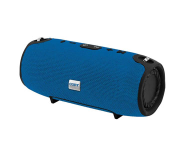 BOCINA COBY PORTABLE, SPEAKER BLUETOOTH, STEREO, JBL-STYLE (XTREME), FABRIC, AZUL