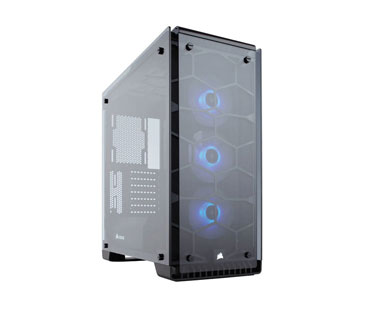 CASE CORSAIR CRISTAL 570X RGB MIRROR, MID TOWER, NEGRO, USB 3.0 X2, AUDIO IN / OUT, 7 EXPANSION SLOT, 2X 2.5