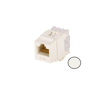 KEYSTONE JACK PANDUIT CAT6, BLANCO