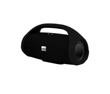 BOCINA COBY PORTABLE, SPEAKER BLUETOOTH, STEREO, TRUE WIRELESS, RECH LI-ON, AUX, USB, MICRO-TF IN, FM, FABRIC, NEGRO
