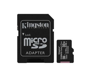 MEMORIA MICROSD 64GB KINGSTON, SDHC, CLASE 10 UHS-1, A1, INCLUYE ADAPTADOR SD