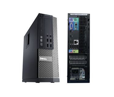 COMPUTADORA DELL REFURBISH OPTIPLEX 7020, SFF I5 (4TA) 3.3GHZ 4GB, 500GB, DVD+RW, W7PRO