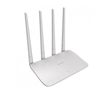 ROUTER WIRELESS TENDA F6, 100MBPS - 4 ANTENAS BANDWITH CONTROL