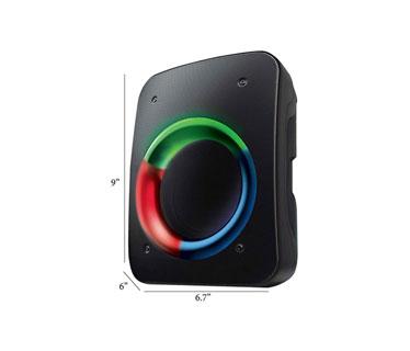 BOCINA COBY PORTABLE, BLUETOOTH 5.0, RECARGABLE BATERIA LITHIUM-ION, USB, ENTRADAS AUX AND TF CARD, ENTRADA DE MICROFONO.