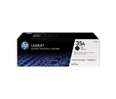 TONER HP CB435AD NEGRO DOBLE PARA LASERJET P1002 / P1005 / P1006