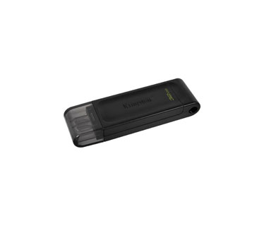 MEMORIA USB 32GB 3.2 GEN.1 KINGSTON, DATA TRAVELER 70, NEGRO