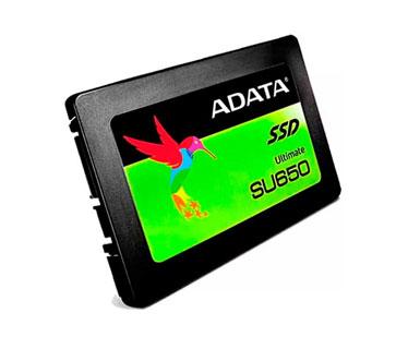 DISCO DE ESTADO SOLIDO SSD ADATA 120GB, SATA 3, 2.5, 3D NAND, LECTURA 520MB/S, ESCRITURA 450MB/S