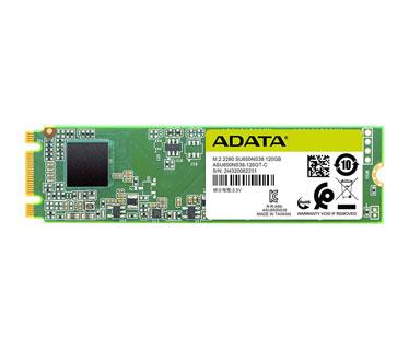 DISCO DE ESTADO SOLIDO SSD ADATA 120GB, SATA 3, M.2 , 3D NAND, VELOCIDAD DE LECTURA 500MB/S Y ESCRITURA 380MB/S