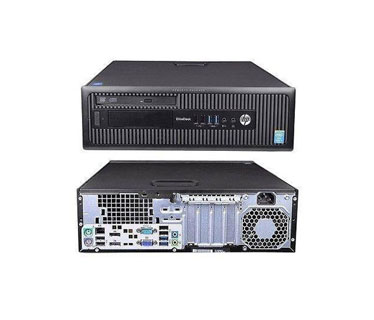 COMPUTADORA HP REFURBISHED ELITE DESK 800 G1 SFF, I5 (4TA) 4590, 3.30GHZ, 4GB, 500GB, WIN7