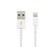 CABLE LIGHTNING ARGOM, 3 PIES, BLANCO. PARA IPHONE 5/5S/6/6S.