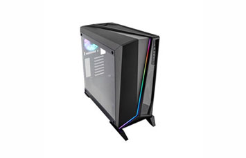 CASE CORSAIR CARBIDE SPEC OMEGA RGB GAMING, MID TOWER, NEGRO, USB 3.0 X2, AUDIO IN / OUT, 7 EXPANSION SLOT, 3X 2.5