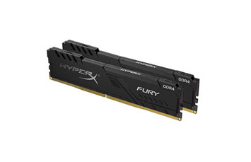 MEMORIA 8GB (2X4GB) KINGSTON, P/DESKTOP, DDR4, 2400MHZ, PC4-19200, CL16, 1.2V, 288-PIN, DIMM, HYPERX FURY