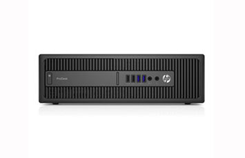 COMPUTADORA REFURBISHED HP PRODESK 600 G2 SFF   INTEL CORE I7-6700 @3.40GHZ   8GB   500GB HDD   W10 PRO