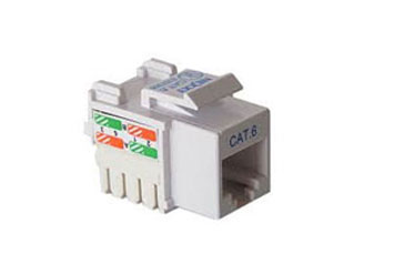 JACK KEYSTONE NEXXT CAT6E TOOLLESS BLANCO TIPO 110
