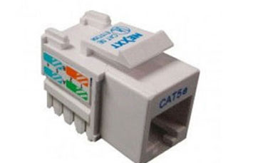 JACK MINI KEYSTONE NEXXT CAT5E BLANCO TIPO 110