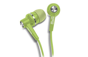 AUDIFONO KLIPX STEREO VERDE EARPHONE IN EAR (DENTRO DEL OIDO).