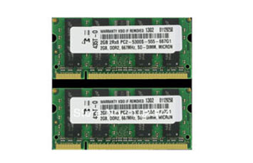 MEMORIA DELL 512MB DDR2 667MHZ PARA LAPTOP.