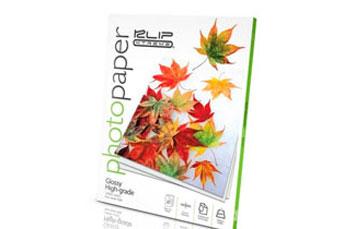 PAPEL GLOSSY KlipX 8.5x11 20 Pack 200gm AP100KLX01