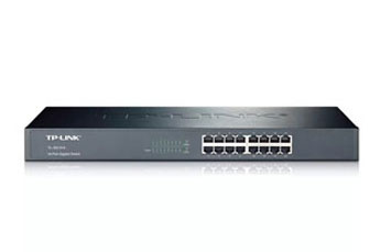 SWITCH 16 PUERTOS TP-LINK TL-SF1016, NO ADMINISTRABLE/RACK, 16 PUERTOS 10/100MBPS.