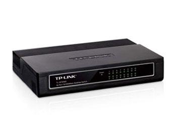 SWITCH 16 PUERTOS TP - LINK TL - SF1016D, NO ADMINISTRABLE / DESKTOP, 16 PUERTOS 10 / 100MBPS.