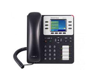 TELEFONO IP GRANDSTREAM GXP-2130, 3 TECLAS DE LÍNEA, 3 CUENTAS SIP, CONECTOR RJ9 PARA AUDÍFONOS, G.711,G.722 (BANDA ANCHA), G.729NB, G.726, 1LBC, DTMF EN BANDA Y FUERA DE BANDA (EN AUDIO, RFC2833, SIP INFO) TLS/SRTP, 802.1 X, TR-069, 8 TECLAS BLF DE DISCADO RÁPIDO, 12 V, 0.5 A, ADAPTADOR A/C INCLUIDO.