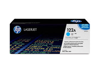TONER HP 122 CYAN Q3961A - TONER CARTRIDGE - 1 X CYAN - 4000 PAGES,COMPATIBLE PRODUCTS — HP LASERJET PRINTERS2550L, 2550LN, 2550N HP MULTIFUNCTION AND ALL-IN-ONE PRODUCTS 2820, 2840