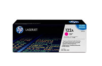 TONER HP 122 MAGENTA Q3963A - TONER CARTRIDGE - 1 X MAGENTA - 4000 PAGES,COMPATIBLE PRODUCTS — HP LASERJET PRINTERS2550L, 2550LN, 2550N HP MULTIFUNCTION AND ALL-IN-ONE PRODUCTS 2820, 2840