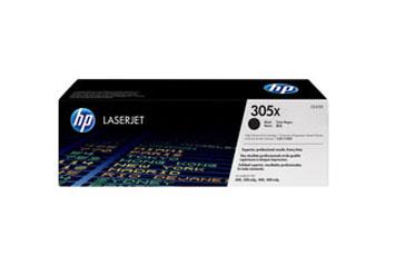 TONER HP 305X - CE410X - toner cartridge - 1 x black - 4000 pages - for LaserJet Pro 300 color M351a, 300 color MFP M375nw, 400 color M451, 400 color MFP M475