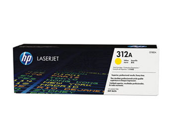TONER HP 312A - TONER CARTRIDGE - CF382A 1 X YELLOW - 2700 PAGES - FOR COLOR LASERJET PRO MFP M476NW, M476DN Y M476DW