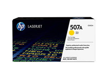 TONER HP 507A - Toner cartridge - 1 x yellow - 6000 pages - for LaserJet Enterprise M551dn, M551n, M551xh