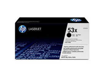 TONER HP 53X - TONER CARTRIDGE - 1 X BLACK - 7000 PAGES - FOR LASERJET M2727NF MFP, M2727NFS MFP, P2015, P2015D, P2015DN, P2015N, P2015X