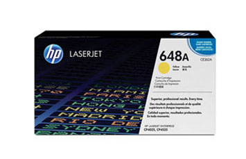 TONER HP 648A - CE262A - toner cartridge - 1 x yellow - 11000 pages - for Color LaserJet Enterprise CP4025dn, CP4025n, CP4525dn, CP4525n, CP4525xh