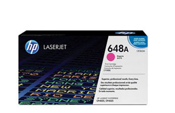 TONER HP 648A - CE263A - toner cartridge - 1 x magenta - 11000 pages for Color LaserJet Enterprise CP4025dn, CP4025n, CP4525dn, CP4525n, CP4525xh