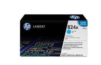 TONER HP 824A - Drum kit - 1 x cyan - 23000 pages - for Color LaserJet CL2000, CM6030, CM6040, CP6015