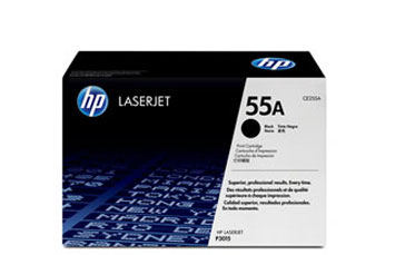 TONER HP CE255A NEGRO PARA LASERJET PRINTER SERIES P3011 P3015, M521DN)