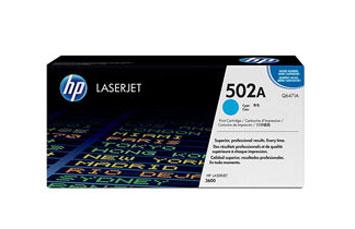 TONER HP 502A AZUL PARA LASERJET 3600