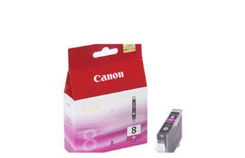 CARTUCHO CANON CLI - 8 MAGENTA COMPATIBLE CON PIXMA IP4200, IP5200, MP800.