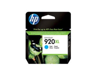 CARTUCHO HP 920XL CIAN HIGH CAPACITY INK CARTRIDGE - CD972A COMPATIBLE CON OFFICEJET 6000, 6500A Y 7500A 6ML.