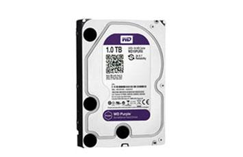 DISCO DURO 1TB P/VIDEOVIGILANCIA WESTERN DIGITAL 3.5, SATA 6.0GB/S 7200RPM/64MB.