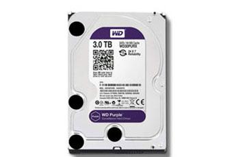 DISCO DURO 3TB P/VIDEOVIGILANCIA WESTERN DIGITAL 3.5 SATA 6GB/S 7200RPM/64MB.