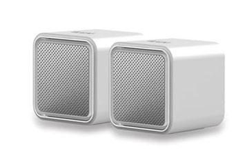 BOCINAS USB ILUV PORTABLES Stereo ALTA CALIDAD DE SONIDO SILVER.(ILUV-ISP160)