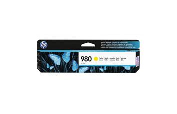 CARTUCHO HP 980 YELLOW D8J09A, RINDE 6,600 PAGINAS, COMPATIBLE CON IMPRESORAS X555 Y X585.