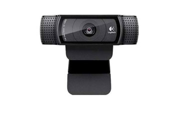 CAMARA WEB LOGITECH HD PRO C920, 15 MP, 1080P WIDESCREEN VIDEO CALLING AND RECORDING - BUILT - IN MICROPHONE - AUTOFOCUS - USB 2.0.