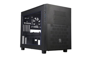 CASE CORE X2 MATX THERMALTAKE, 4 HDD 3.5'' 2.5'', 5 EXPANSION SLOTS, MINI ITX, MICRO ATX. 2 USB3.0.