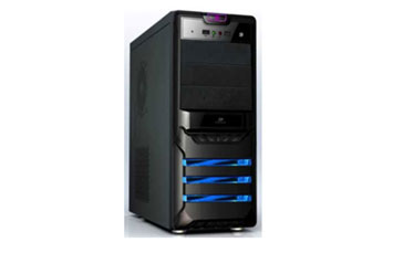 CASE AGILER P4 - ATX NEGRO PANEL 24PIN, SATA,USB X2, POWER 525W (AGI - C006B).