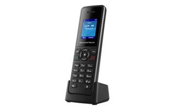 TELEFONO IP GRANDSTREAM INALAMBRICO DP-720, ALCANCE 300M EXTERIOR-50M INTERIOR, PANTALLA 1.8