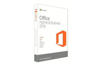 MICROSOFT OFFICE HOME AND BUSINESS 2016 32/64 SPANISH LATAM EM NOT PUERTO RICO DVD P2