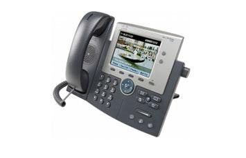 TELEFONO CISCO UNIFIED IP PHONE 7945G - VOIP PHONE - SCCP, SIP - SILVER, DARK GRAY