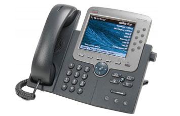 TELEFONO CISCO UNIFIED IP PHONE 7975G - VOIP PHONE - SCCP, SIP - SILVER, DARK GRAY
